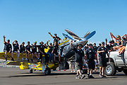 Team Precious Metal also had by far the largest crew at the 2015 Reno Air Races.