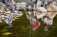 USP alumni reflections along the Deerfield River, Vermont