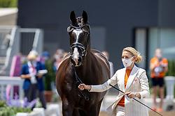Van Baalen Marlies, NED, Go Legend, 153<br /> Olympic Games Tokyo 2021<br /> © Hippo Foto - Dirk Caremans<br /> 23/07/2021