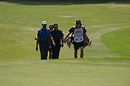 Patrick Reed (USA) and Erik Van Rooyen (RSA) during Rd4 of the World Golf Championships, Mexico, Club De Golf Chapultepec, Mexico City, Mexico. 2/23/2020.<br /> Picture: Golffile   Ken Murray<br /> <br /> <br /> All photo usage must carry mandatory copyright credit (© Golffile   Ken Murray)