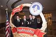 FREY BROTHERS; JOHN, LEONARD, TED AND HARLEY, Deplorables, Ronald Reagan building. 1300 Pennsylvania avenue. 20004,Washington. DC . 19 January 2017