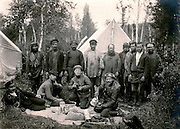 Irkutsk, Siberia, Russia, 1910..Founded in 1714 by Peter the Great, the Komarov Institute is one of the largest botanical collections in the world.  Migration Department expedition to Siberia led by A.N. Krishtofovich..