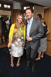 Handbag designer ANYA HINDMARSH and her husband JAMES SEYMOUR at the Spectator Summer Party held at 22 Old Queen Street, London SW1 on 3rd July 2008.<br /><br />NON EXCLUSIVE - WORLD RIGHTS