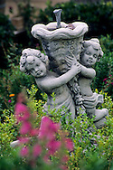 Garden statue at Old Edna Store, Edna Valley, near San Luis Obispo, San Luis Obispo County, California
