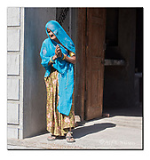 Woman from Rajasthan, India.  Nikon D810, 70-200mm @ 78mm, f8, EV+0.67, 1/500sec, ISO400, Aperture priority