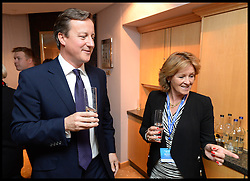 Image ©Licensed to i-Images Picture Agency. 28/09/2014. Birmingham, United Kingdom. The Prime Minister David Cameron attends the Woca Reception on Day one of the  Conservative Party Conference.Picture by Andrew Parsons / i-Images