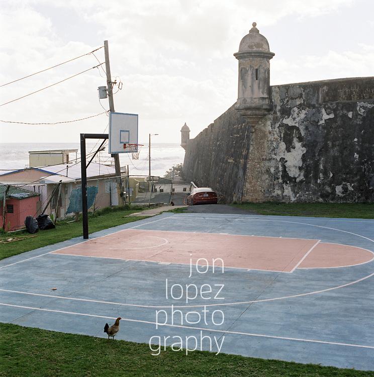 OLD SAN JUAN, PR 20180403. Puerto Rico 2018. NOTE: MANDATORY PHOTO CREDIT: Photo by Jon Lopez.