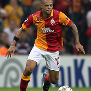 Galatasaray's Felipe Melo during their UEFA Champions League Group H matchday 2 soccer match Galatasaray between Braga at the TT Arena Ali Sami Yen Spor Kompleksi in Istanbul, Turkey on Tuesday 02 October 2012. Photo by TURKPIX