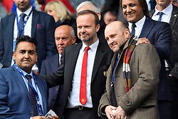 Manchester United Chief Executive Ed Woodward in the stands during the Premier League match at the John Smith's Stadium, Huddersfield.