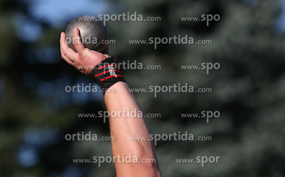 Throwing at Athletic National Championship of Slovenia, on July 19, 2008, in Stadium Poljane, Maribor, Slovenia. (Photo by Vid Ponikvar / Sportal Images).