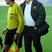 Turkey's coach Guus HIDDINK during their International friendly soccer match Turkey between South Korean at the Avni Aker stadium in Trabzon, Turkey on Wednesday 09 February 2011. Photo by TURKPIX