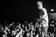 Charlie Steen of British post-punk band Shame at Iceland Airwaves