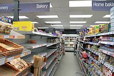 Coronavirus pandemic impact on shops, Derby, 20 March 2020