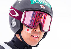 28.02.2019, Seefeld, AUT, FIS Weltmeisterschaften Ski Nordisch, Seefeld 2019, Nordische Kombination, Team Sprung, im Bild Akito Watabe (JPN) // Akito Watabe of Japan during the Team Jumping competition for Nordic Combined of FIS Nordic Ski World Championships 2019. Seefeld, Austria on 2019/02/28. EXPA Pictures © 2019, PhotoCredit: EXPA/ JFK