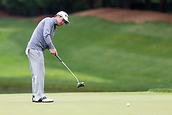 June 23, 2018 - Cromwell, Connecticut, United States - Brian Harman putts the 8th green during the third round of the Travelers Championship at TPC River Highlands. (Credit Image: © Debby Wong via ZUMA Wire)