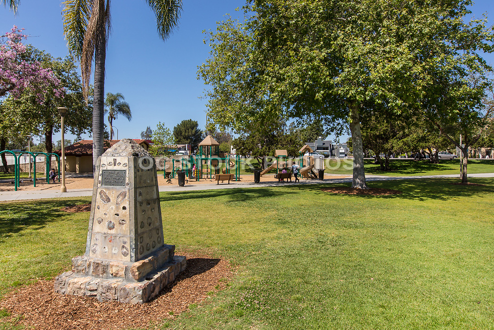 Children's Playground Equipment at Hart Park in Orange California