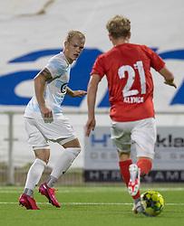 Philip Rejnhold (FC Helsingør) under kampen i 1. Division mellem FC Helsingør og Silkeborg IF den 11. september 2020 på Helsingør Stadion (Foto: Claus Birch).