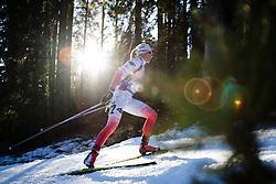 Krystyna Guzik (POL) during Women 12.5 km Mass Start at day 4 of IBU Biathlon World Cup 2015/16 Pokljuka, on December 20, 2015 in Rudno polje, Pokljuka, Slovenia. Photo by Ziga Zupan / Sportida