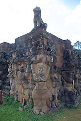 Garuda With Lion Above