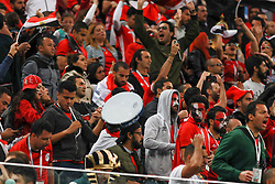 June 19, 2018 - SãO Petersburgo, Rússia - SÃO PETERSBURGO, MO - 19.06.2018: RUSSIA VS EGYPT - Egypt fans during the match between Russia and Egypt valid for the 2018 World Cup held at the Zenit Arena in St. Petersburg, Russia. (Credit Image: © Ricardo Moreira/Fotoarena via ZUMA Press)