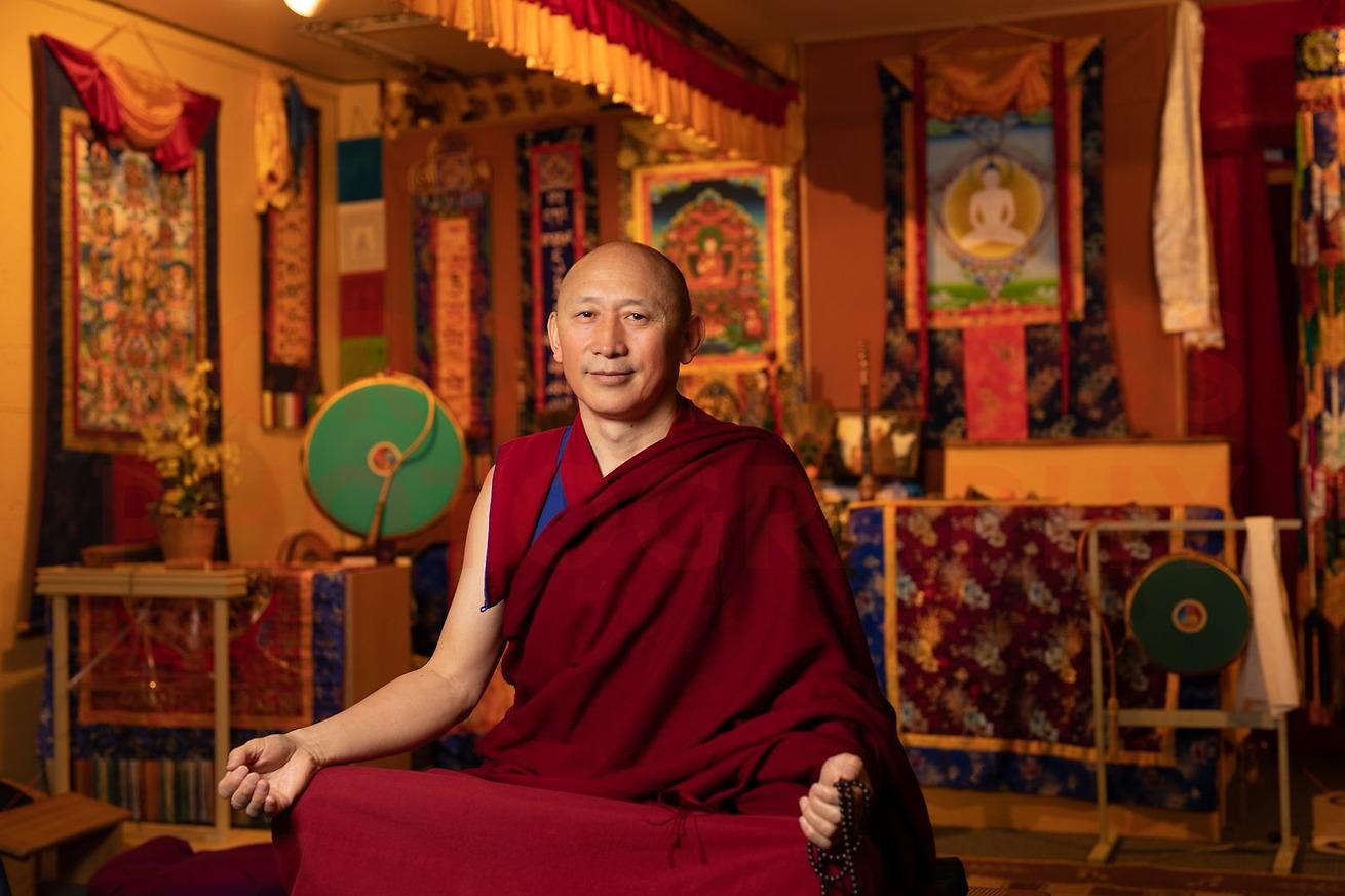 Portrait, Tibetan Bon LamaGeshe YongDong