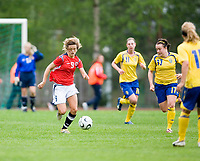 Cathrine Dekkerhus. Norway-Sweden, WU17 Four Nation's Tournament. Eerikkilä, Finland, 25.5.2007. Photo: Jussi Eskola