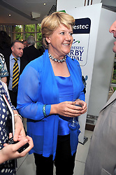 CLARE BALDING at the launch of the 2009 Derby Festival in the presence of HRH Princess Haya of Jordan in aid of the charity Starlight held at the Kensington Roof Gardens, 99 Kensington High Street, London W8 on 12th May 2009.