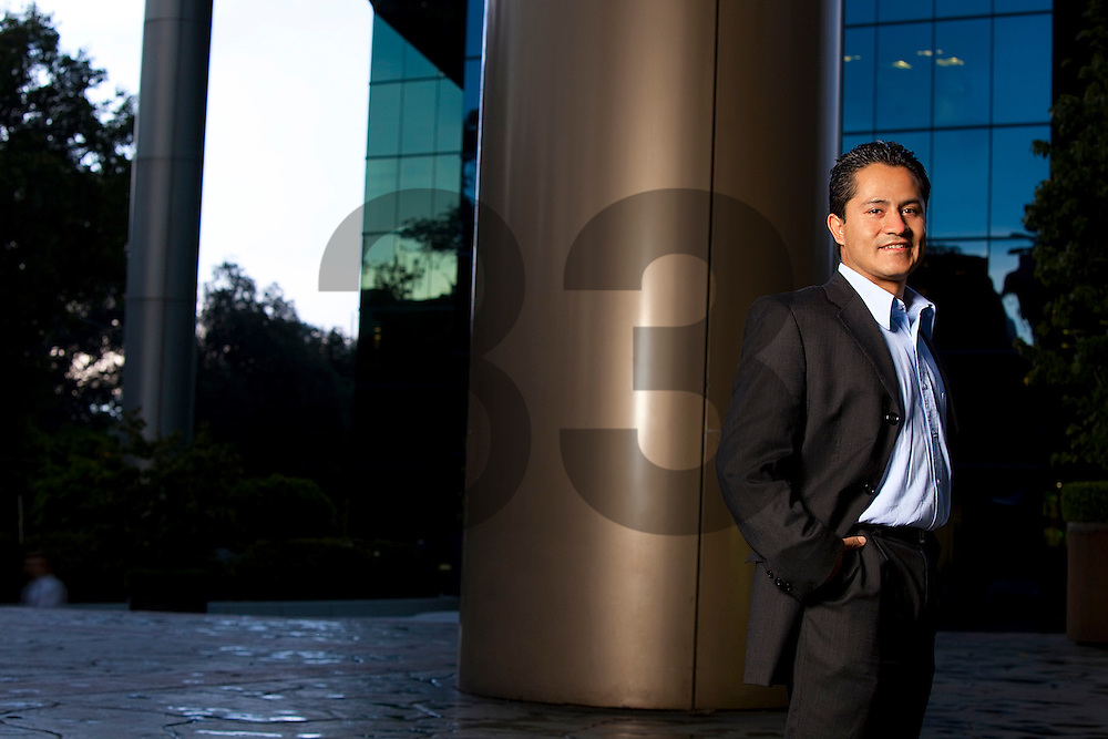 Fernando Hernandez of Grupo Elektra. Mexico City. Photographed for Oracle Corp Publications. Photo: Martin L Vargas / Getty Images.
