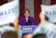 Democratic Presidential Candidate Elizabeth Warren in Washington Square Park