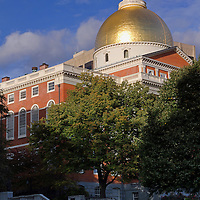 This Boston photo image of the Massachusetts State House is available as museum quality photography prints, canvas prints, acrylic prints or metal prints. Prints may be framed and matted to the individual liking and wall decoration needs: <br /> <br /> http://juergen-roth.artistwebsites.com/featured/massachusetts-state-house-in-beacon-hill-juergen-roth.html<br /> <br /> Good light and happy photo making!<br /> <br /> My best,<br /> <br /> Juergen<br /> http://www.exploringthelight.com<br /> http://www.rothgalleries.com<br /> @NatureFineArt<br /> http://whereintheworldisjuergen.blogspot.com/<br /> https://www.facebook.com/naturefineart