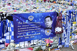 Tribute from Leicester's Sikh community (c) Simon Kimber   SportPix.org.uk