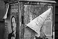 Tired Posters, Bucharest, Romania