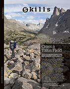 Backpacker: Cross a Talus Field (August 2017)