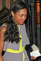 LONDON - February 09: Naomie Harris at The Charles Finch & Chanel Pre-BAFTA Party (Photo by Brett D. Cove)