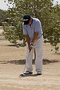 Abu Dhabi, United Arab Emirates (UAE). .March 20th 2009..Al Ghazal Golf Club..36th Abu Dhabi Men's Open Championship..Ken Ritzal