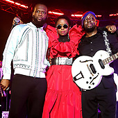 September 22, 2021 - NYC: Fugees & Global Citizen Team Up To Kick Off Fugees 2021 World Tour