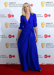 Joely Richardson in the press room at the Virgin TV British Academy Television Awards 2018 held at the Royal Festival Hall, Southbank Centre, London.