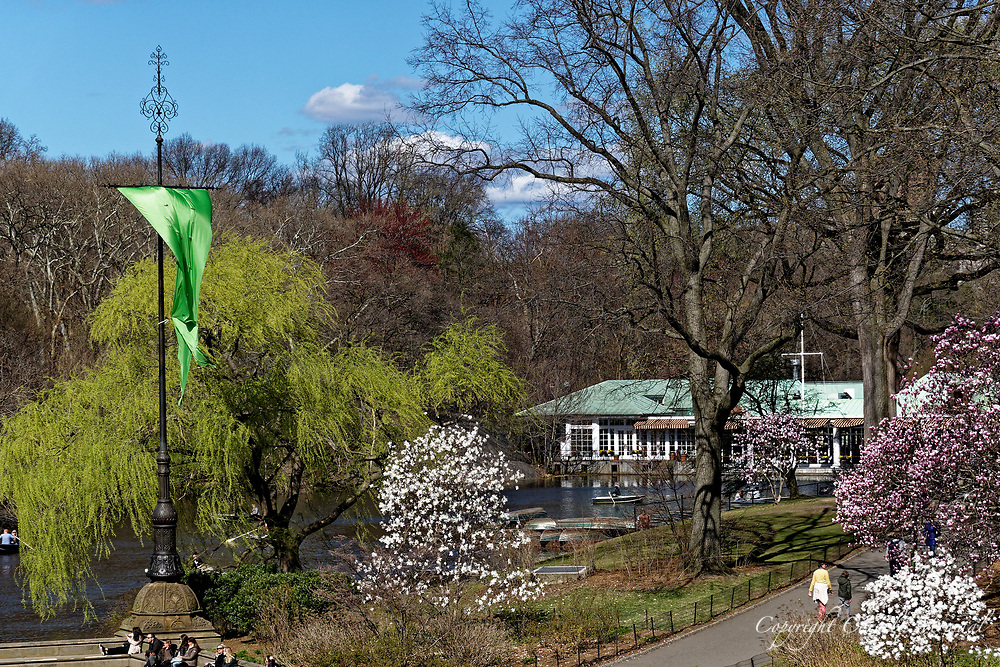 Spring at The Boathouse Restaurant in Central Park