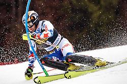 05.03.2017, Podkoren, Kranjska Gora, SLO, FIS Weltcup Ski Alpin, Kranjska Gora, Slalom, Herren, 1. Lauf, im Bild Alexander Khoroshilov (RUS) // Alexander Khoroshilov of Russian Federation in action during his 1st run of men's Slalom of FIS ski alpine world cup at the Podkoren in Kranjska Gora, Slovenia on 2017/03/05. EXPA Pictures © 2017, PhotoCredit: EXPA/ Johann Groder
