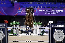 Duguet Romain, SUI, Twentytwo Des Biches<br /> Longines FEI World Cup Jumping Final III, Omaha 2017 <br /> © Hippo Foto - Dirk Caremans<br /> 02/04/2017