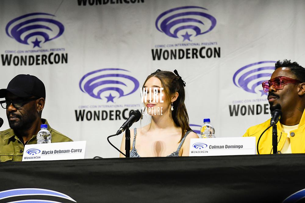 Alycia Debnam-Carey at Wondercon in Anaheim Ca. March 31, 2019