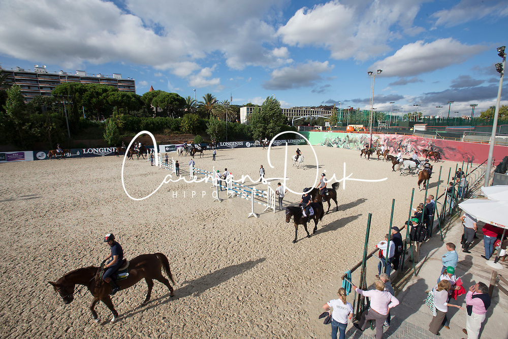 Overview training<br /> Furusiyya FEI Nations Cup Jumping Final - Barcelona 2015<br /> © Dirk Caremans<br /> 23/09/15