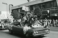 1977 Gay Pride Parade on Hollywood Blvd.
