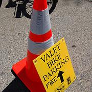 Valet bicycle parking in Tucson, Arizona. Bike-tography by Martha Retallick.
