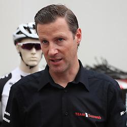 28-06-2017: Wielrennen: Tour Sunweb persmoment: Dusseldorf<br />Coach Aike Visbeek