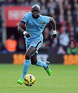 Eliaquim Mangala of Manchester City<br /> - Barclays Premier League - Southampton vs Manchester City - St Mary's Stadium - Southampton - England - 30th November 2014 - Pic Robin Parker/Sportimage