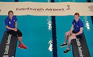 Scottish Swimming Announces New Partnership with Edinburgh Airport<br /> Scottish Swimming and Edinburgh Airport are delighted to announce a new partnership to support Scottish Swimming national events, in particular the Scottish National Diving Championships & Thistle Trophy and the Scottish National Short Course Swimming Championship, both of which are held at the Royal Commonwealth Pool in Edinburgh during December. <br /> <br /> Scottish Divers Grace Reid and James Heatly celebrate the new partnership at the Royal Commonwealth Pool, Edinburgh<br /> <br />  Neil Hanna Photography<br /> www.neilhannaphotography.co.uk<br /> 07702 246823