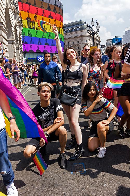 Gay Pride Parade, London, UK, Saturday 7th July 2018.