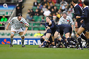 Twickenham. GREAT BRITAIN, Kevin BRENNAN.  passing the ball out from the back of the scrum from behind the scrum, during the 2006 Varsity Rugby Match at Twickenham Stadium, England 12.12.2006. [Photo, Peter Spurrier/Intersport-images] Sponsor, Lehman Brothers,