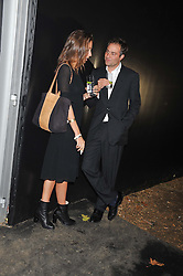 BEN GOLDSMITH and JEMIMA JONES at a party to celebrate the launch of the new 2&8 club at Morton's Berkeley Square, London on 27th September 2012.